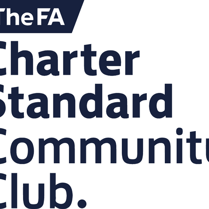 Proud to be a FA Charter Standard Community Club
