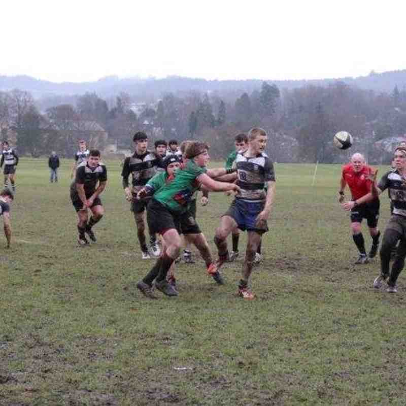 Perthshire / Blairgowrie Colts 12 - Highland 37 , Friendly 12/03/16