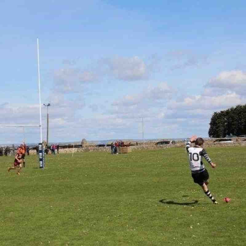 Perthshire / Blairgowrie Colts 57 - Ellon 5 , Shield Final 24/4/16
