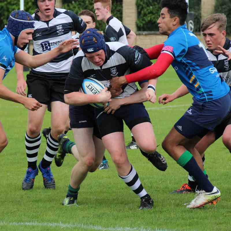 Perthshire Colts 5 - Boroughmuir 17 , 19/08/17 , Friendly