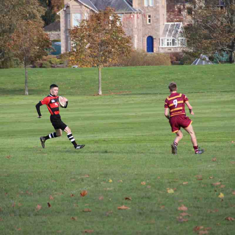 Perthshire Colts 10 - Ellon Colts 13 : 11/11/17
