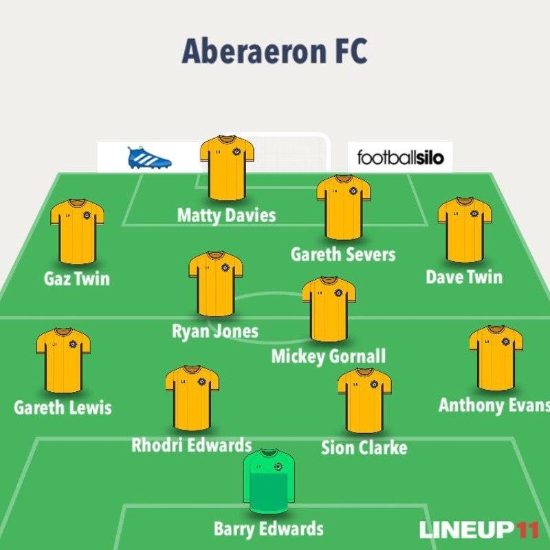 Aberaeron fc vs Tywyn Bryncrug