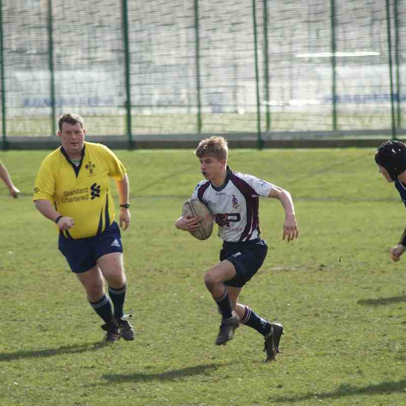 Old Alleynians Academy (24) v Sidcup Academy (26)