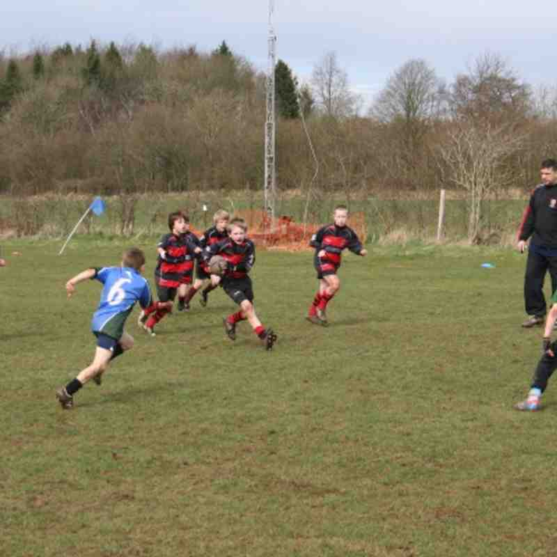 U9's at Overton Spring Cup