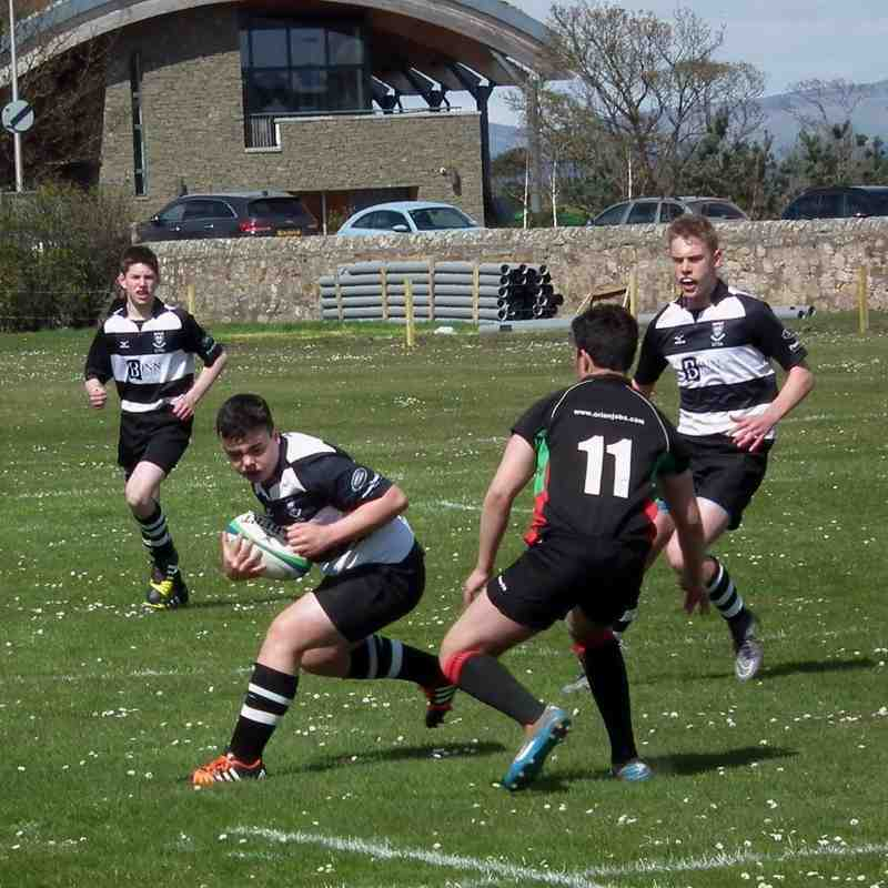 Caledonia U/15 Shield Final (1 of 2) Excellent win for Perthshire vs Highland 56-12