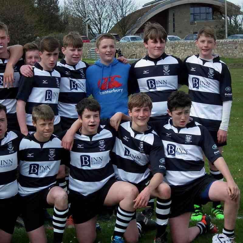 Caledonia U/15 Shield Final (2 of 2) Excellent win for Perthshire vs Highland 56-12