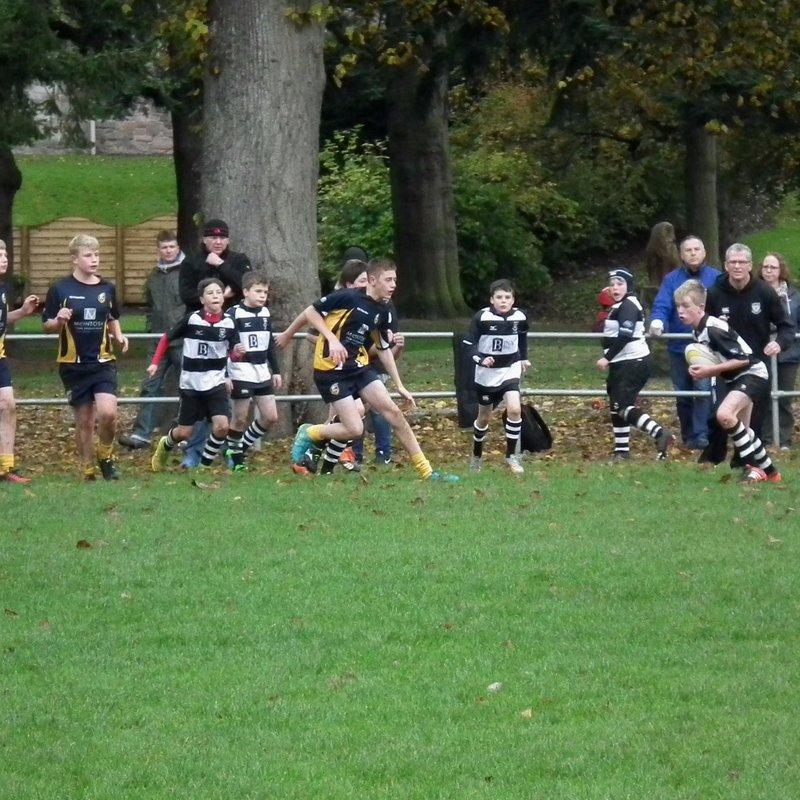 Perthshire U/13 vs Dundee S1/2 23/10/16 1st half