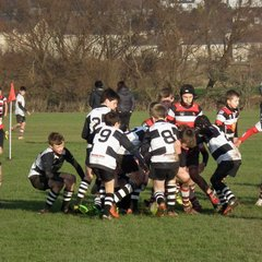 Perthshire U/13 beat Stirling U/13 (20 - 6) - 1st half 4/12/16