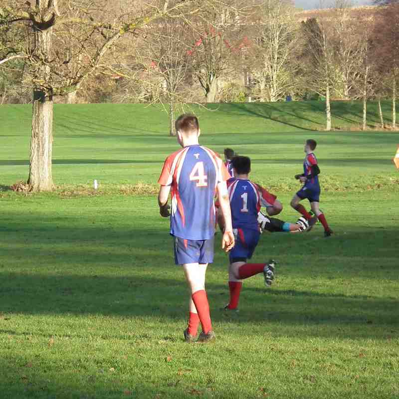 Perthshire U/16 vs Kirkcaldy 08/01/16 (friendly)