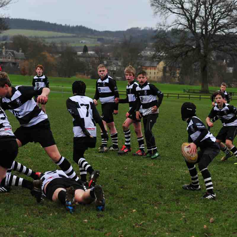 Perthshire U/13  44 beat Dunfermline 12 on 12/2/17 1st 3d