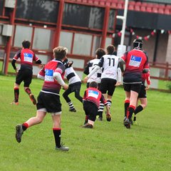 Perthshire U/13 lost to Glasgow Hawks 0 - 14 16/04/17 (Pics by Louise)
