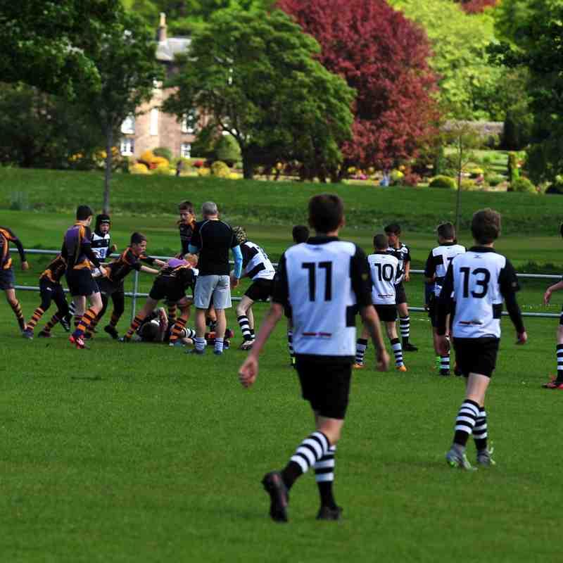 Perthshire U/13 beat Marr 23-13 on 14/05/17