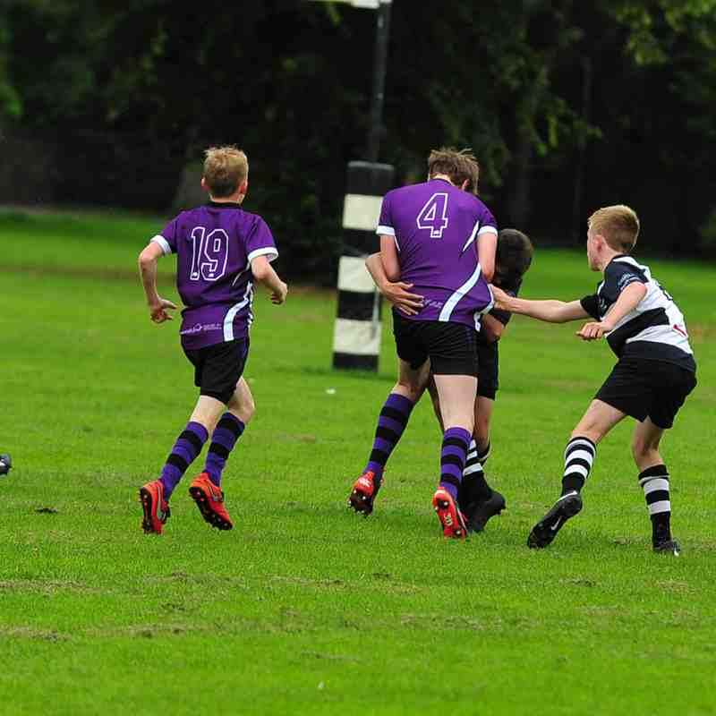 Perthshire U/14 beat Kinross 31-10 on 27/8/17 (Pics by Louise)