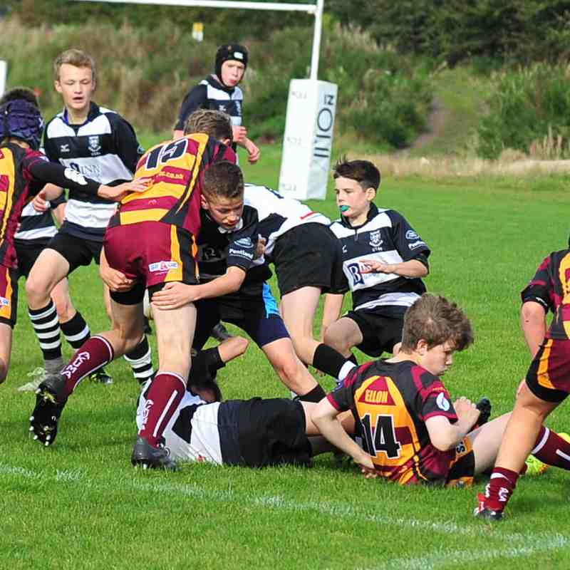 Perthshire U/14 beat Ellon 48 - 4 on 24/9/17 Pics by Louise