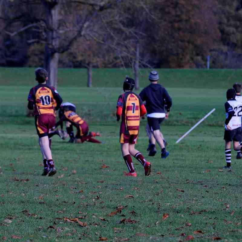 Perthshire U/14 beat Ellon 42-9 on 12/11/17 1st3d  (Pics by Louise)