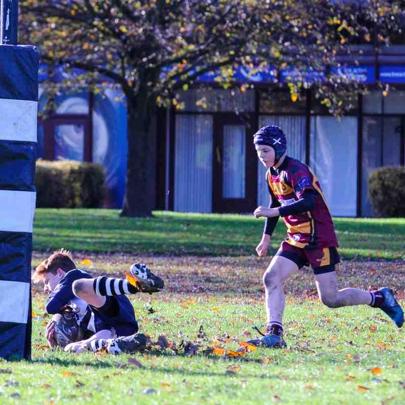 Perthshire U/14 beat Ellon 42-9 on 12/11/17 2nd3d (Pics by Louise)