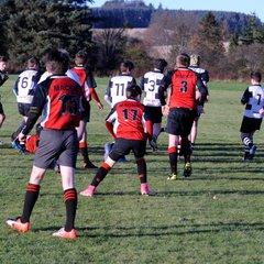 Perthshire U/14 beat Mackie 14 -11 on 26/11/17