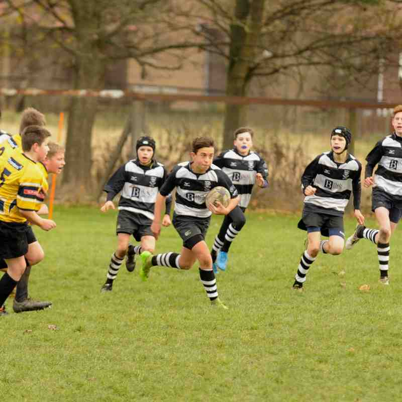 Perthshire U/14 beat Dundee 53-0 on 03/12/17
