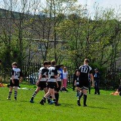 Hamilton festival U/14  Match 1 Perthshire 11 - 4 Glasgow Hawkes