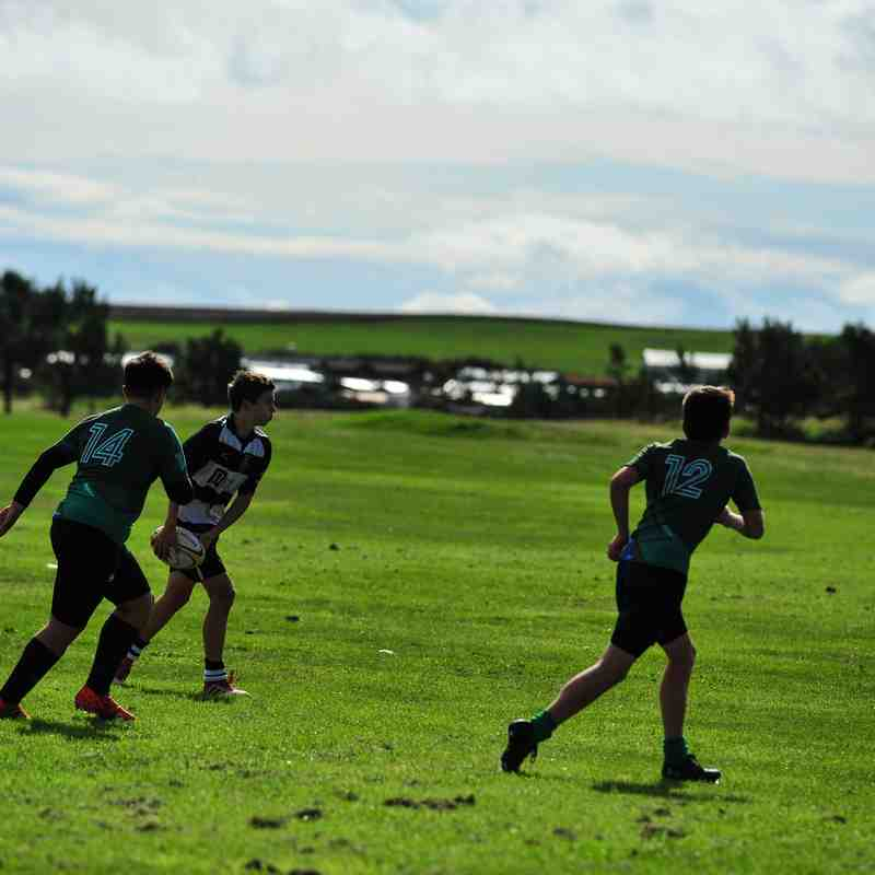 Perthshire U/15 78 - 33 Montrose on 09/09/2018 Pics by Louise