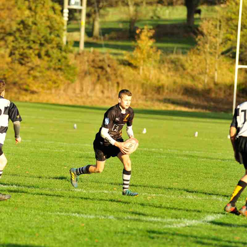 Perthshire U/15 57 - 5 Currie (Halftime score) 28/10/2018 Pics by Louise