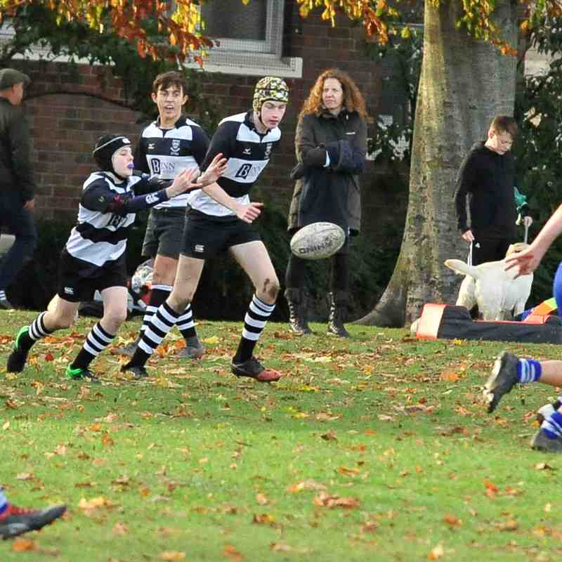 Perthshire U/15 84 - 14 Dunfermline on 04/11/2018 Pics by Louise Venter