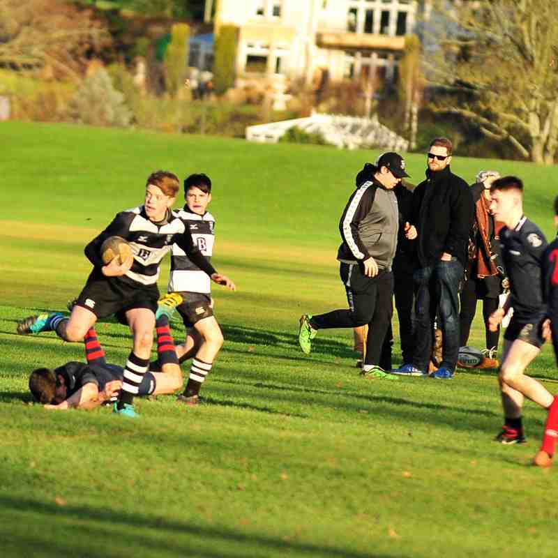 Perthshire U/15 49 - 0 Madras on 13/01/2019 Pics by Louise Venter