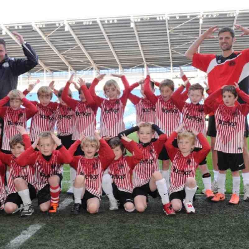 Maindy Corries Under 7's @ Cardiff City Stadium