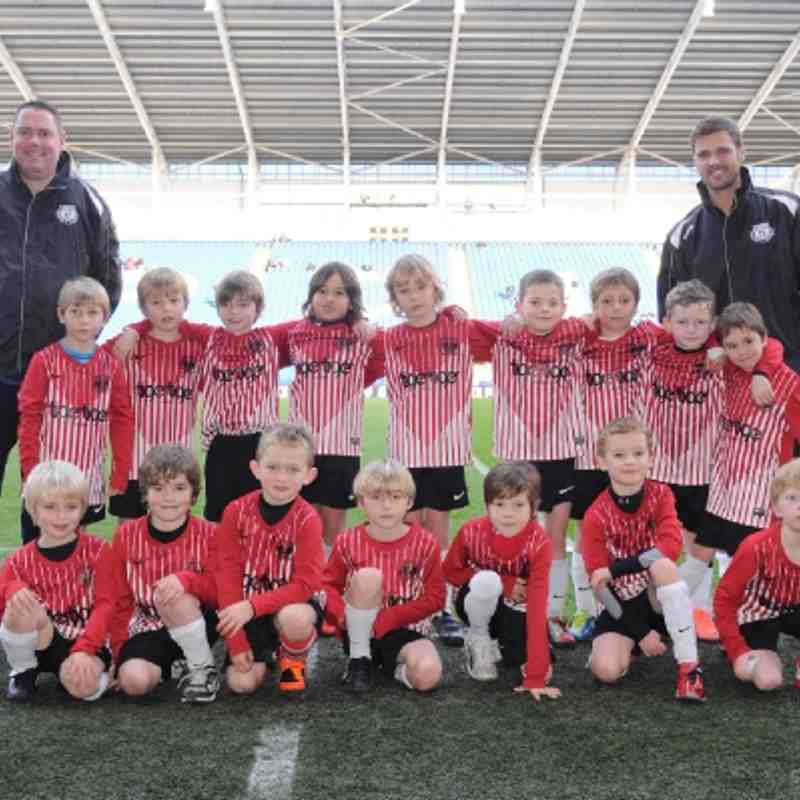 Maindy Corries Under 7's @ Cardiff City Stadium