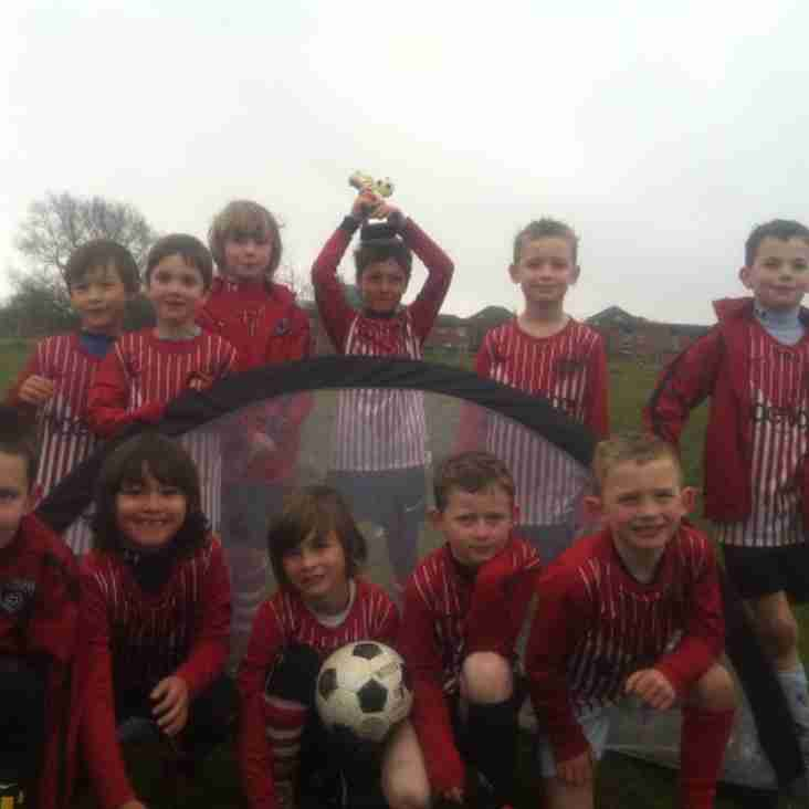 Maindy Corries Under 7's Whites round up