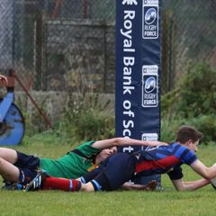 SYRFC U16's v Caithness 29.10.16