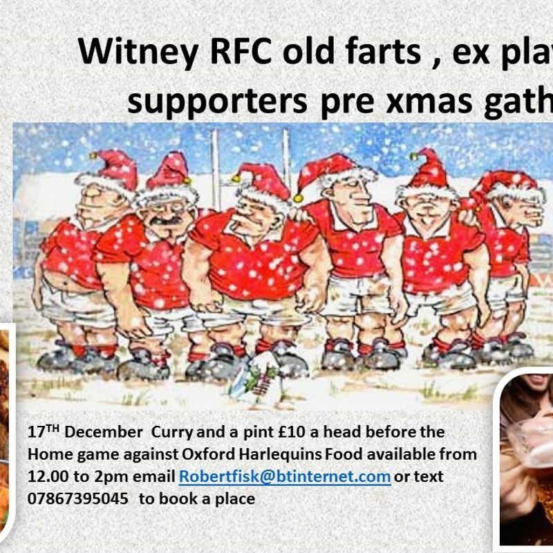 Ex players, old farts and supporters