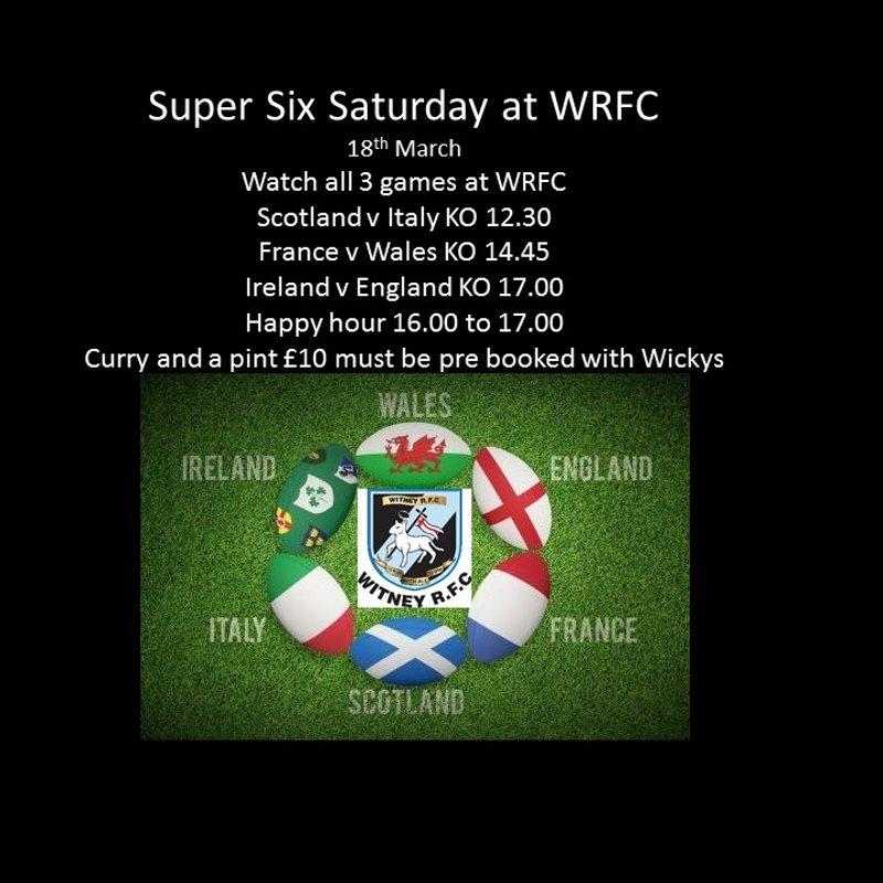 Super six Saturday