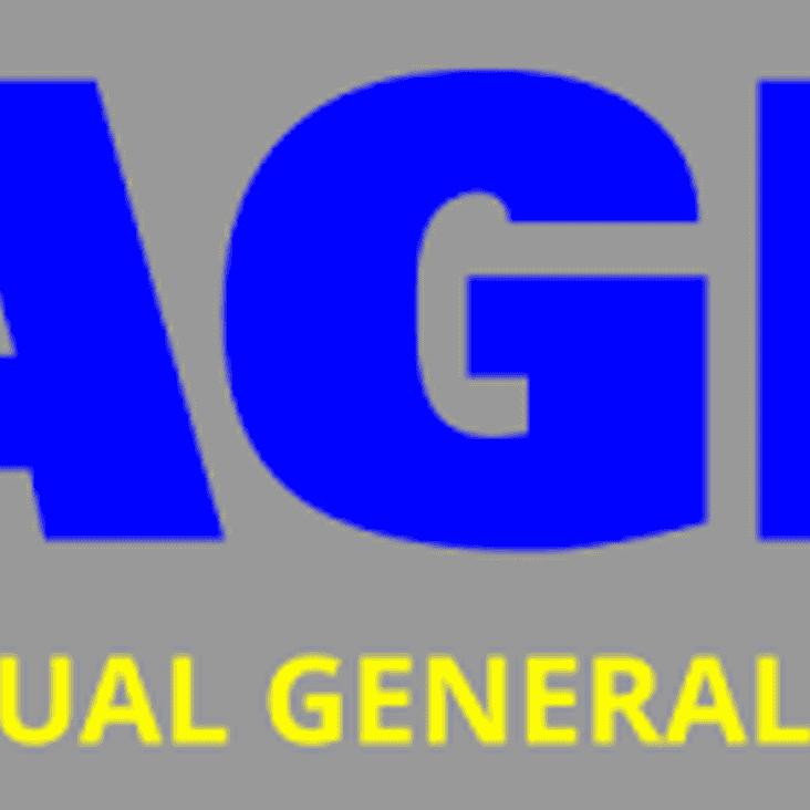 Main Club AGM 16th May 8pm