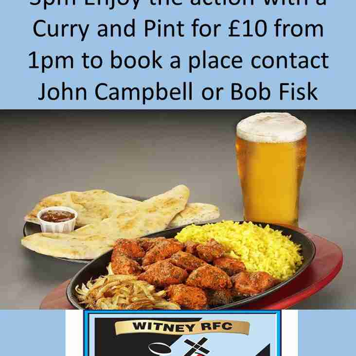 Less formal than a chairman's lunch Pint and curry for a £10 returns