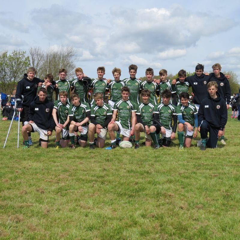 Under 15's lose to Harlow 46 - 5
