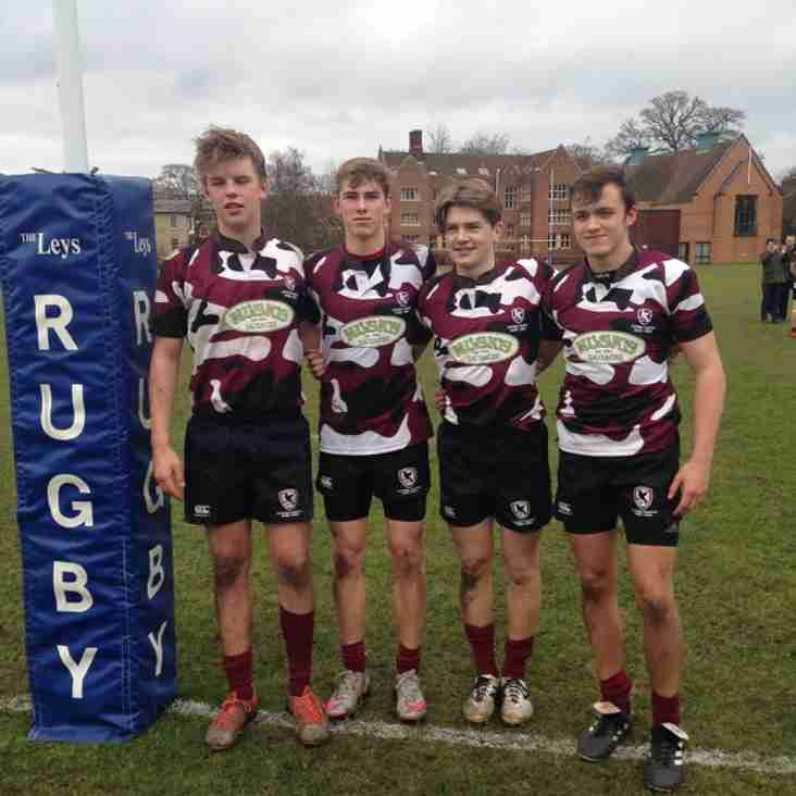 Four U16s in EC win