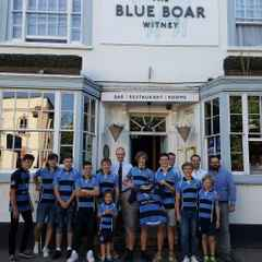 The Blue Boar sponsors Minis and Juniors rugby