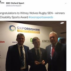 Wolves win Oxfordshire sports disability Award