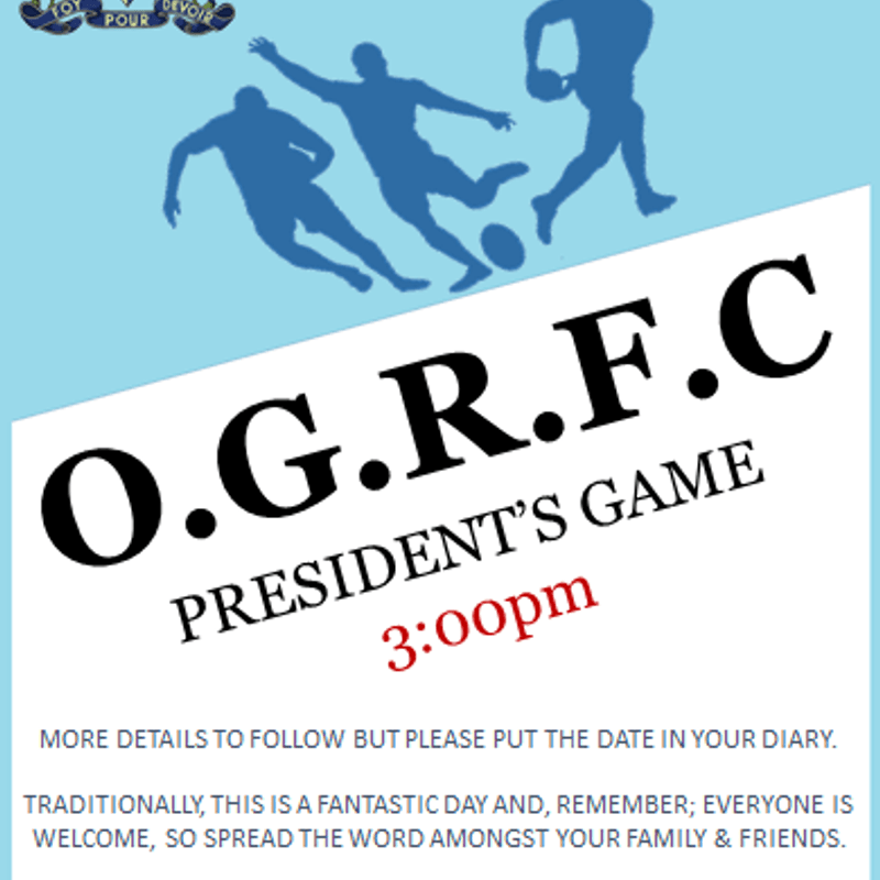 President's Game 2018