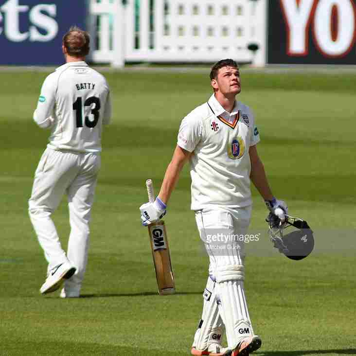 Jack Burnham scores maiden ton for Durham