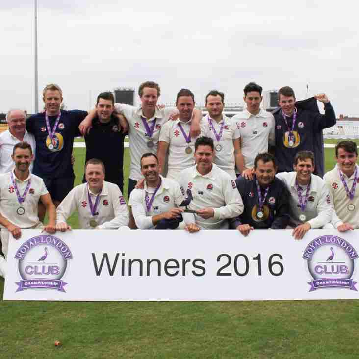 South Northumberland into ECB Finals Day