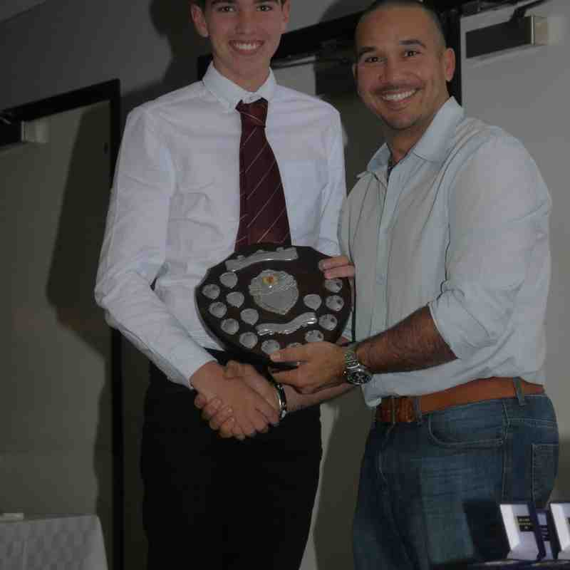 North East Premier League Junior Presentation Night 2016