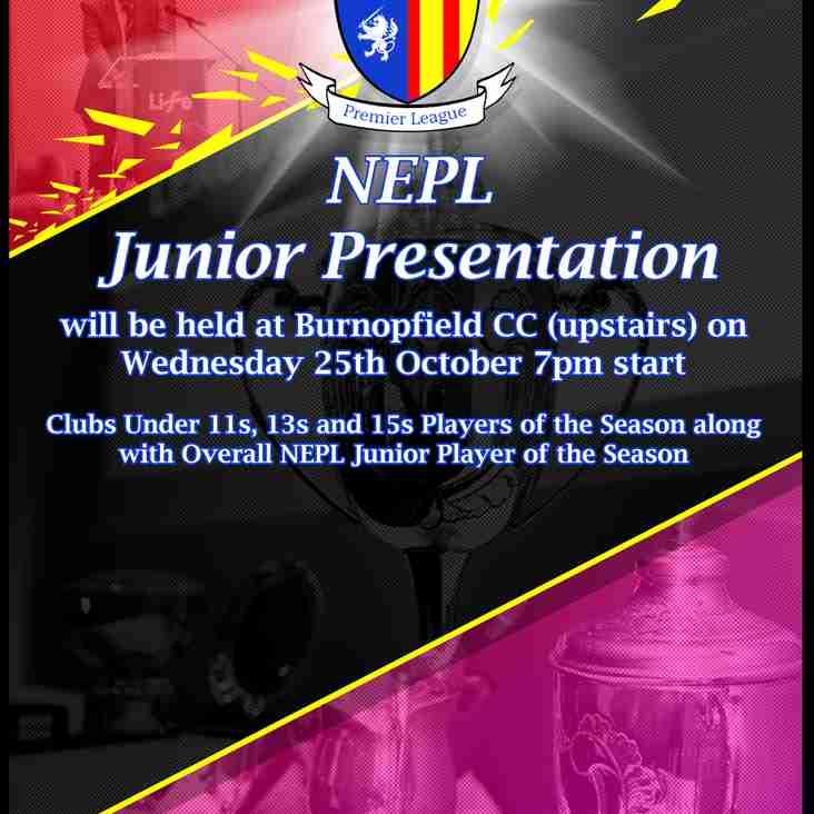 2017 Junior Presentation Night