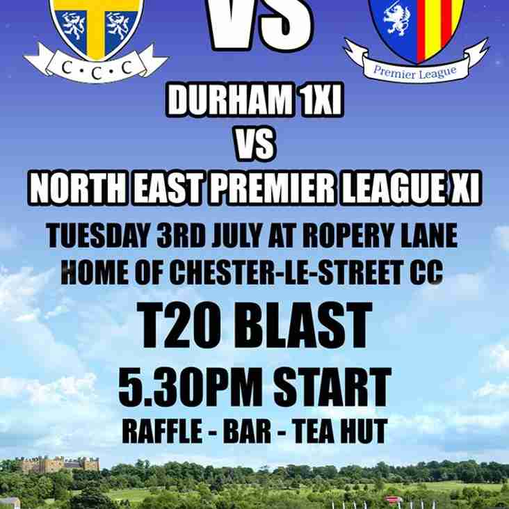 NEPL XI side to take on Durham in T20 Smash