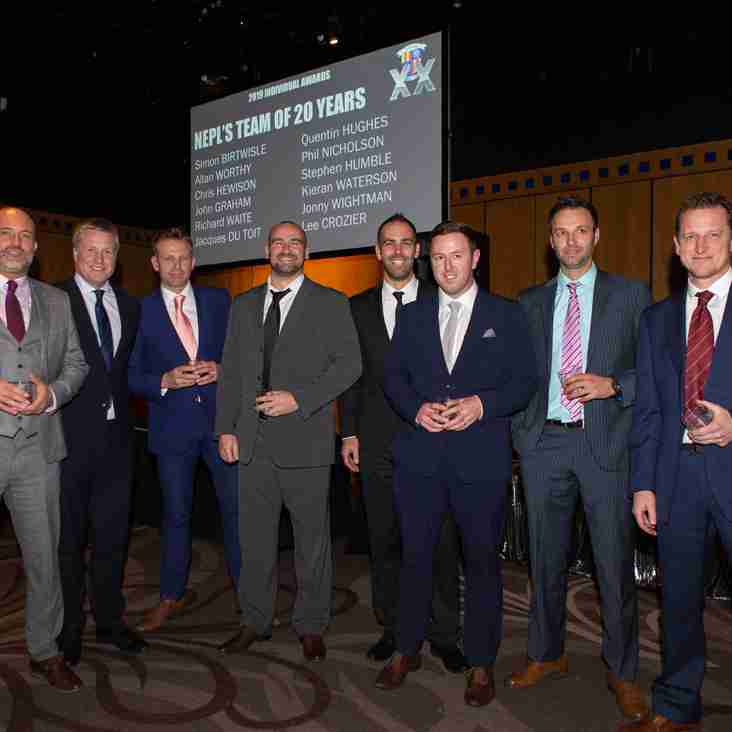 North East Premier League 20th Anniversary Team of the Years