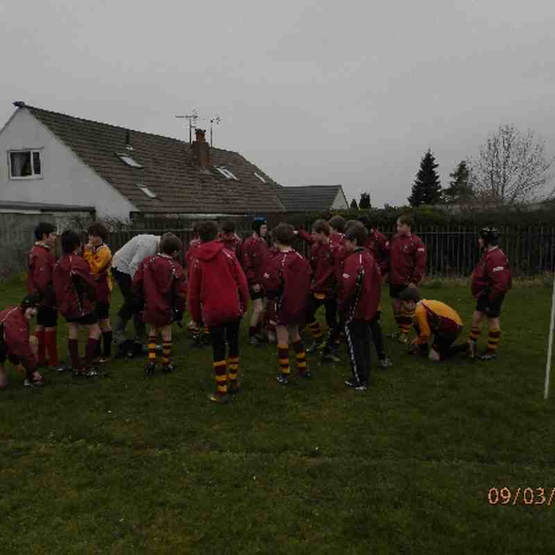 Clitheroe U13's v Rossendale March 2014