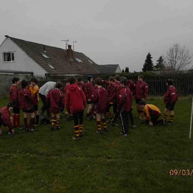 Clitheroe U13's v Rossendale March 2014