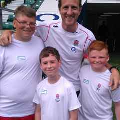 Penryn Youth Trio Train At Twickers With England Legends!