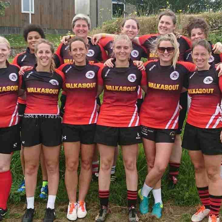 Promising Sevens Show From Penryn Ladies